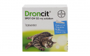 Droncit Spot-On for cats from Vetoquinol